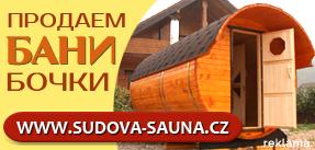Venkovní sudové sauny