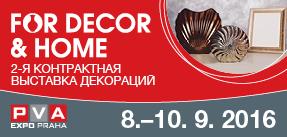 Veletrh FOR DECOR & HOME